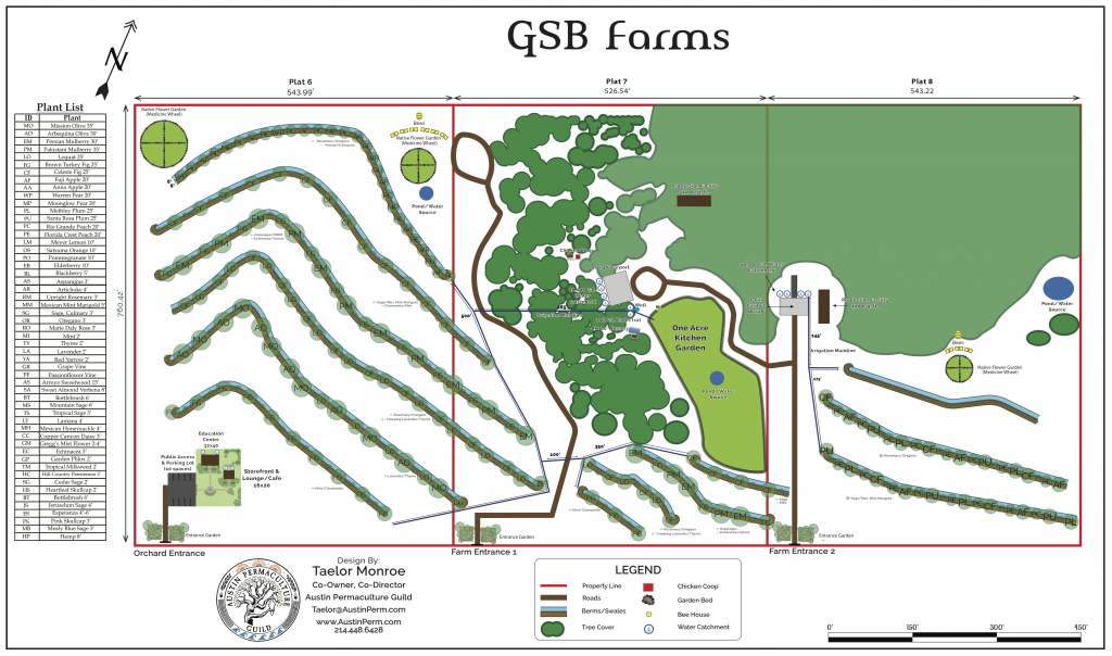 Final Design Map for GSB Farms
